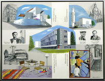 Wohnen, Bauhaus, Kirche, Architektur