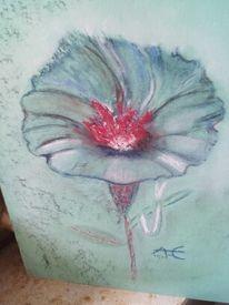 Mischtechnik, Fantasie, Natur, Blumen