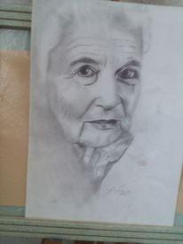 Menschen, Portrait, Malerei, Dame
