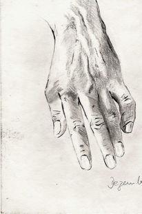 Studie, Menschen, Malerei