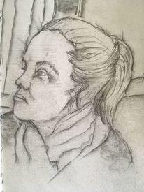 Bleistiftzeichnung, Schön, Zeichnungen,
