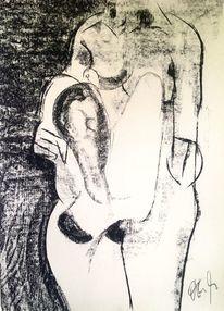 Taube, Pastellmalerei, Figur, Zeichnungen