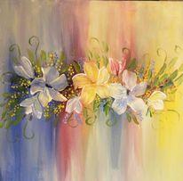Blumen, Malerei,