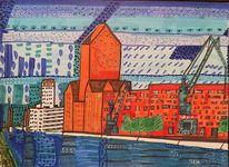Landesarchiv, Kran, Duisburg, Innenhafen