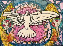 Pfingsten, Frieden, Symbol, Pfingsttaube