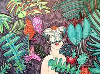Urwald, Schmetterling, Licht und schatten, Wald