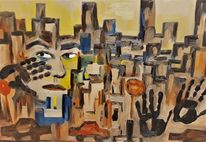 Menschen, Landschaft, Portrait, Stadt