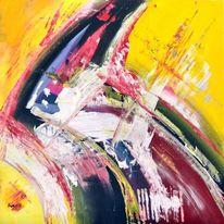 Acrylmalerei, Schnell, Malerei,