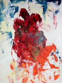 Mann, Tanz, Frau, Malerei
