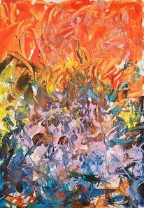 Vielfalt, Explosion, Farben, Malerei