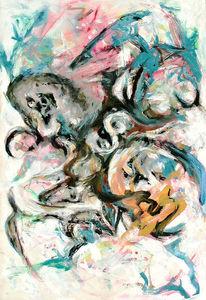 Intuition, Expressionismus, Bewegung, Abstrakt