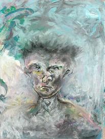 Spontan, Figur, Portrait, Expressionismus