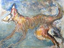 Tiere, Expressionismus, Surreal, Malerei
