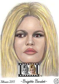 Figur, Portrait, Brigitta bardot, Menschen