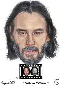 Menschen, Keanu reeves, Figur, Portrait