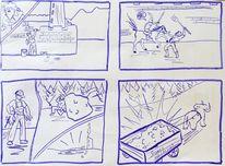 Anita, Hamlet, Shakespeare, Comic