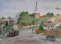 Landschaft, Vorpommern, Dorf, Kindheitserinnerungen