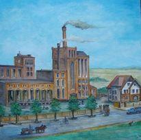 Neubrandenburg, Brauerei, Geschichte, Ölmalerei