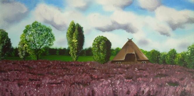 Heide, Malerei