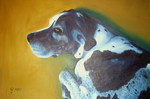 Dogge, Malerei, Figural