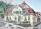 Pastellmalerei, Lippen, Lipperland, Gasthaus