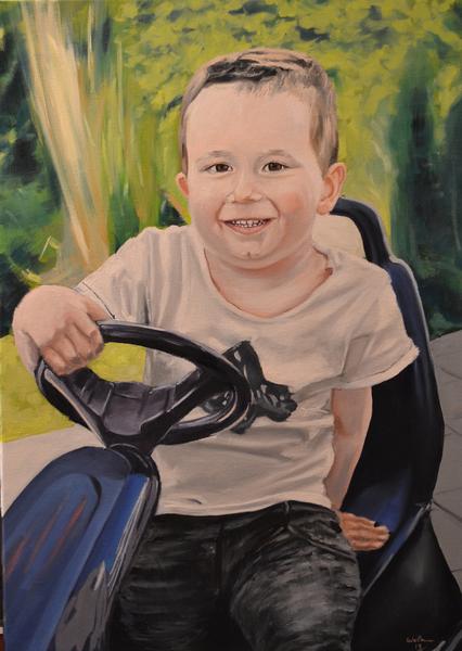 Realismus, Ölmalerei, Portrait, Malerei
