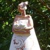 Ton, Keramikfigur, Gartenfigur, Figur