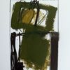 Grün, Schwarz, Abstrakt, Weiß