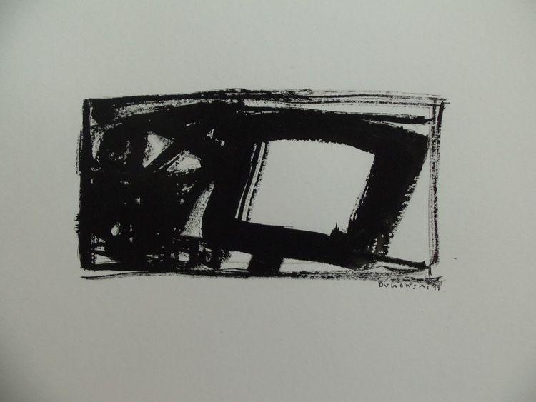 Chinese ink, Malerei,