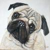Malerei, Handarbeit, Tiere, Hund