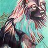 Hund, Malerei, Tiere, Abstrakt