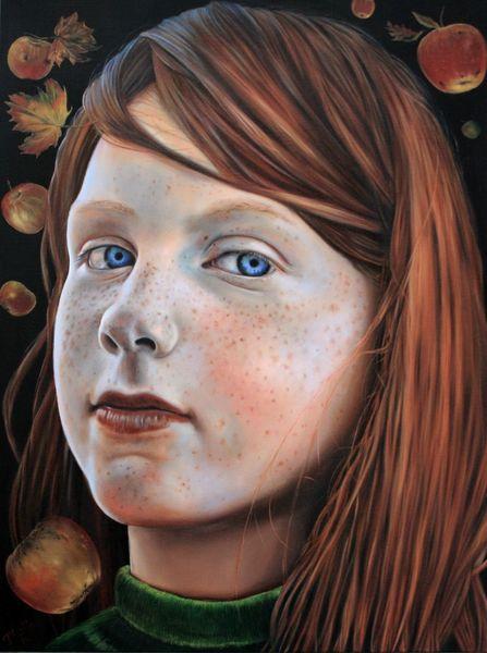 Apfel, Braun, Portrait, Erwartung, Stillleben, Leben