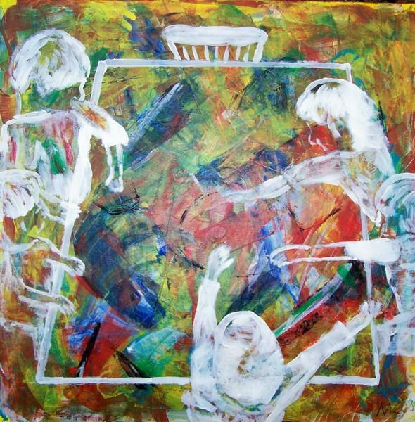 Malerei, Abstrakt, Kids