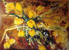 Blumen, Malerei, Pflanzen, Tulpen