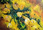Blumen, Tulpen, Malerei, Abstrakt