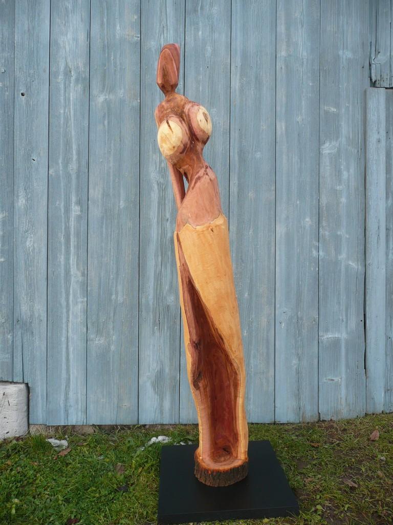 holzkunst nr 491 holzskulpturen kettens gekunst holz skulptur von eberhard bullinger bei. Black Bedroom Furniture Sets. Home Design Ideas