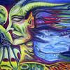 Malerei, Surreal, Gedanken, Strom