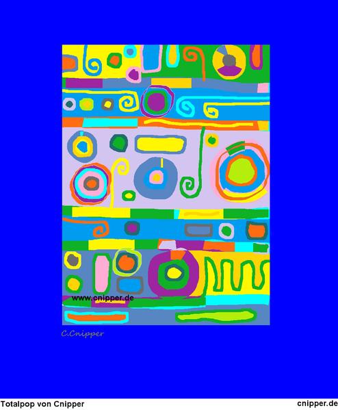 Totalpop, Farben, Bunt, Malerei,