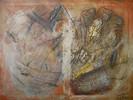 Fkie, Mischtechnik, Acrylmalerei, Antik