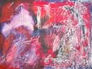 Malerei, Bochum, Gitarre, Rot