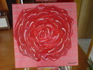 Rose, Malerei, Pflanzen