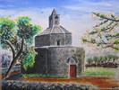 Kirschbaum, Chiesa, Frühling, Kapelle