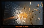 Splitter, Glas, Digitale kunst