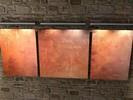 Sinnspruch, Relief, Malerei, Wand