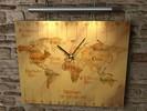Stunde, Zeit, Uhr, Pinselschrift
