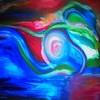 Malerei, Abstrakt, Zufriedenheit