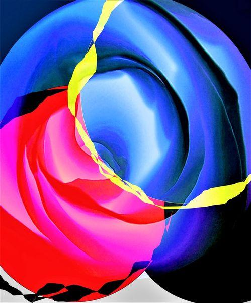 Modern, Digitale kunst, Gemälde, Blumen, Farben, Ausstellung