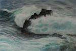 Meer, Welle, Atlantik, La palma