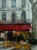 Regen, Cafe, Herbst, Avignon