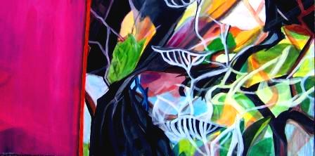 Abstrakt, Farben, Lebhaf, Malerei